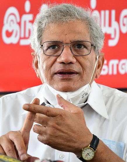 Sitaram Yechury, CPI(M) general secretary.